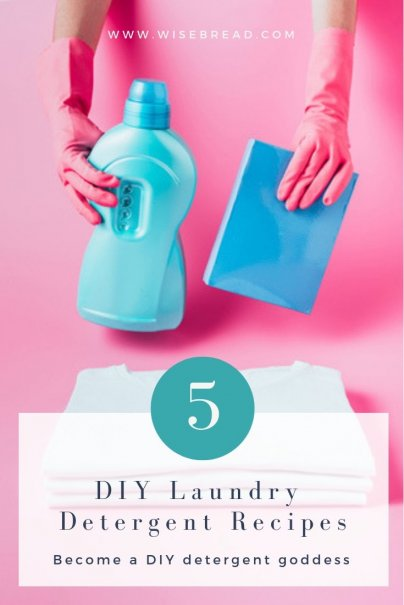 5 DIY Laundry Detergent Recipes