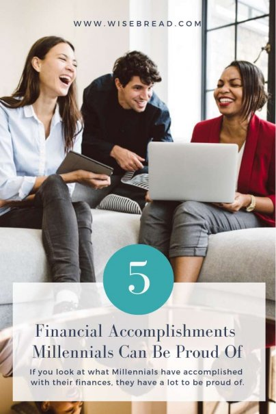 5 Financial Accomplishments Millennials Can Be Proud Of
