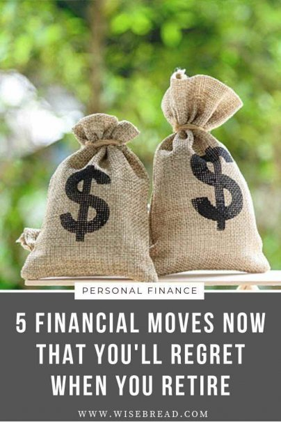 Some financial decisions have long lasting implications. Whether you want to borrow from your 401K, or resetting your mortgage clock, we've got the 5 financial moves that can hurt your finances in the long run. | #personalfinance #moneymatters #retirement