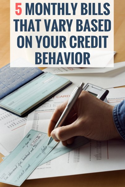 5 Monthly Bills That Vary Based on Your Credit Behavior