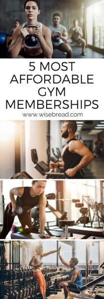 5 Most Affordable Gym Memberships