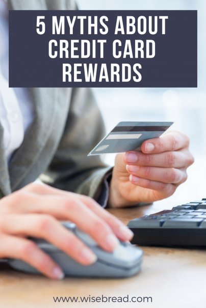 5 Myths About Credit Card Rewards