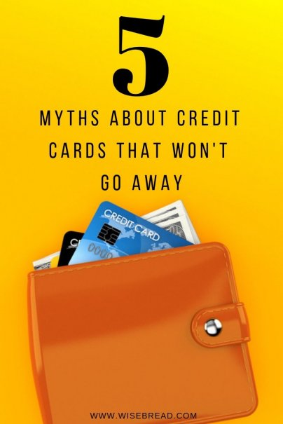 Want to improve your credit score? Many credit card holders believe these damaging myths, so we are going to dispel five of them, from closing unused cards, to holding a credit card balance, or believing there's only one credit score. We've got some finance tips for you! | #creditcard #personalfinance #debtfree