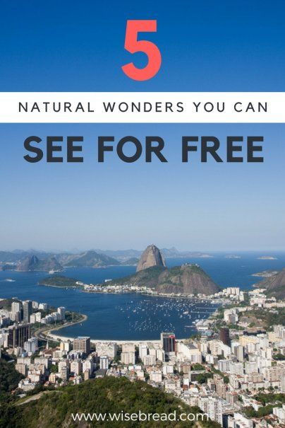 5 Natural Wonders You Can See For Free