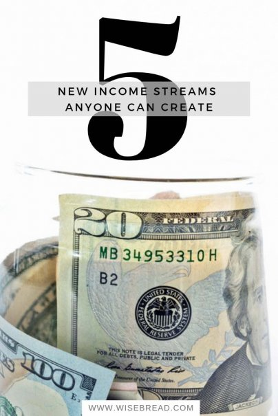 5 New Income Streams Anyone Can Create
