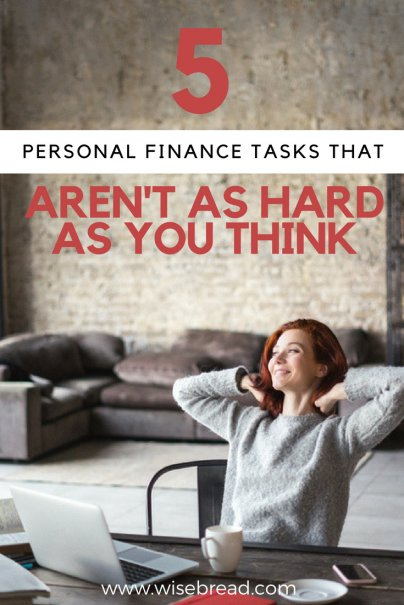 5 Personal Finance Tasks That Aren't as Hard as You Think