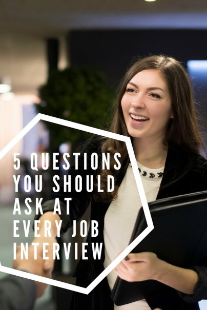 5 Questions You Should Ask at Every Job Interview