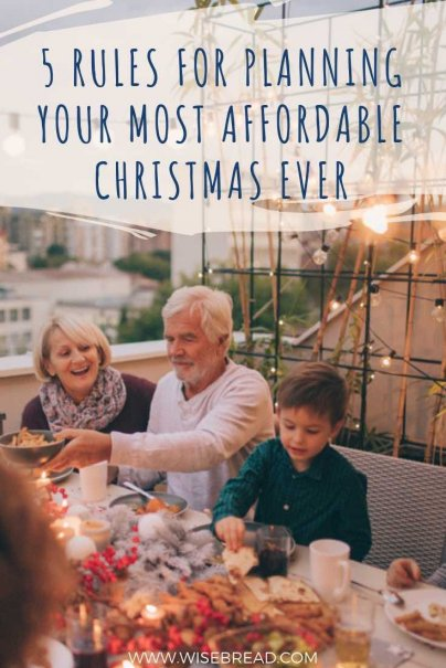 With the Christmas festive season almost here, you may want to think about your holiday budget, and how to cut costs! Here are 5 easy tips and ideas to help you make your decisions, so you are more frugal and don't go into debt this Christmas! | #frugalchristmas #budgeting #moneymatters #holidayshopping
