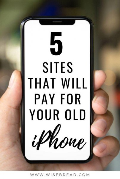 Did you know there are some great ways to sell your old iPhone so you can get that new upgrade! To offset the steep cost of the new phone, we've found 5 sites that will pay you for yours. | #extracash #iphone #extramoney