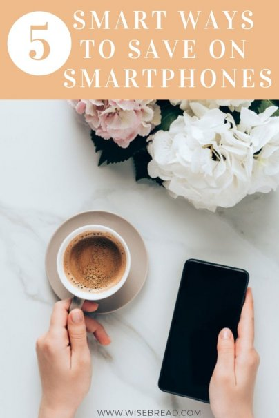 Every few years, we must choose a new cell phone and a new service plan to invest in. It's a modern necessity that can take up a huge chunk of our monthly expenses. We've got the tips and ideas to help you save money on this costly purchase! | #smartphone #millennialtips #savemoney