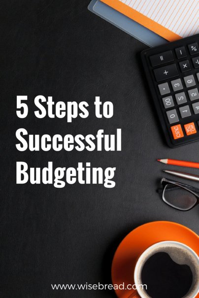 5 Steps to Successful Budgeting