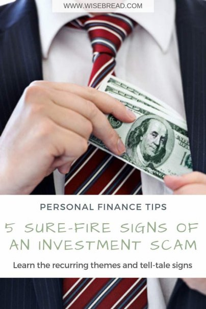 5 Sure-Fire Signs of an Investment Scam