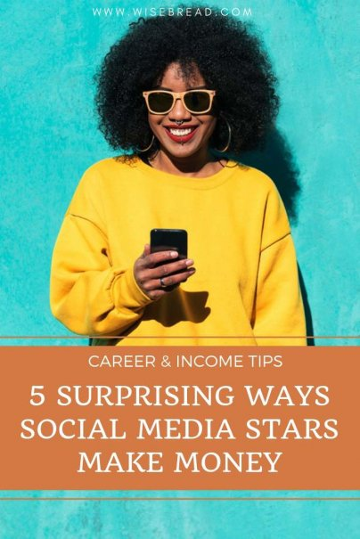Want to know how to make money as a social media influencer? We've found some interesting ways social media stars make money from their online business! | #socialmedia #influencer #sidehustle