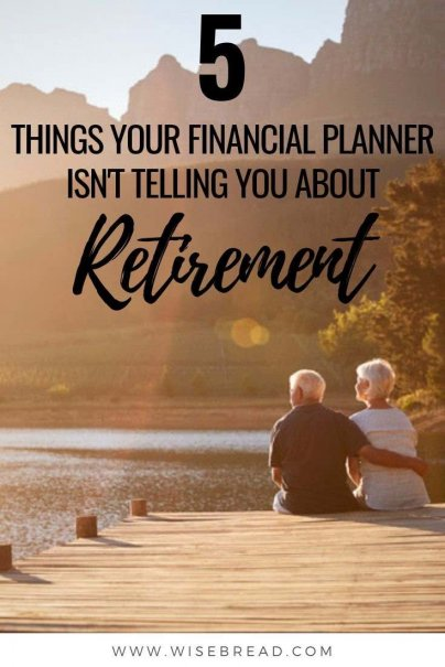 Planning for retirement and have a financial planner? When they're doing their job well, a financial adviser can help you invest your money wisely and plan for retirement. But when it comes to retirement, here are some things your financial planner may not have brought to the table. | #retirement #retirementtips #financialplanner