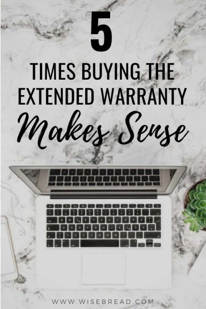 Every time you make a big-ish purchase — like a TV, home appliance, or automobile — you're offered the extended warranty. We've got the tips to help you navigate which purchase is worth the extra money spent on the extended warranty! | #shoppingtips #frugal #warranty