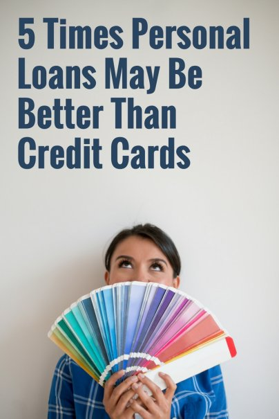 5 Times Personal Loans May Be Better Than Credit Cards