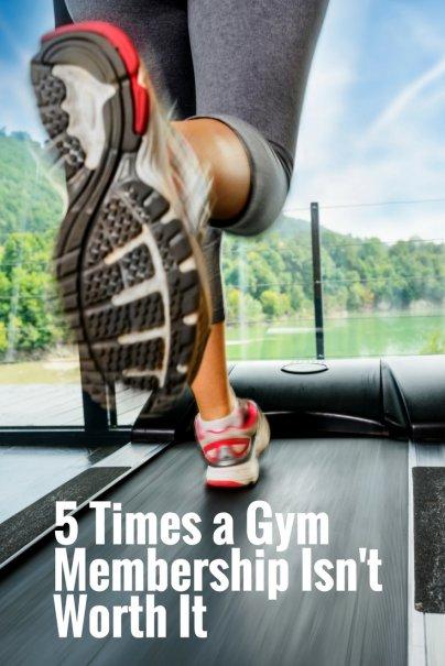 5 Times a Gym Membership Isn't Worth It