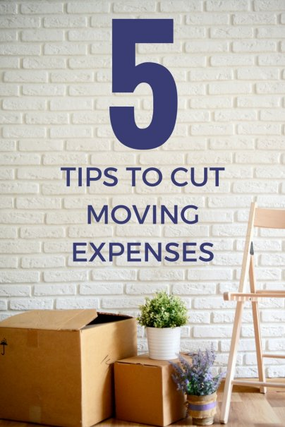 5 Tips to Cut Moving Expenses