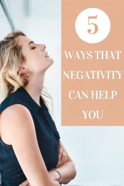 Did you know that some degree of negativity can be helpful for our health and happiness. Here are five ways that negativity can work for you. | #selfcare #happiness #motivation