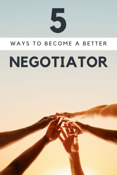 5 Ways to Become a Better Negotiator