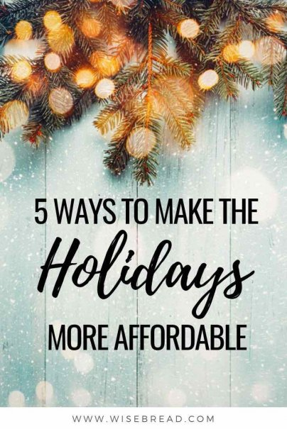 You should probably steer clear of holiday loans if you can figure out a way to avoid them. Here are some alternative ways to make your Christmas holiday budget last. | #christmas #savemoney #debtadvice