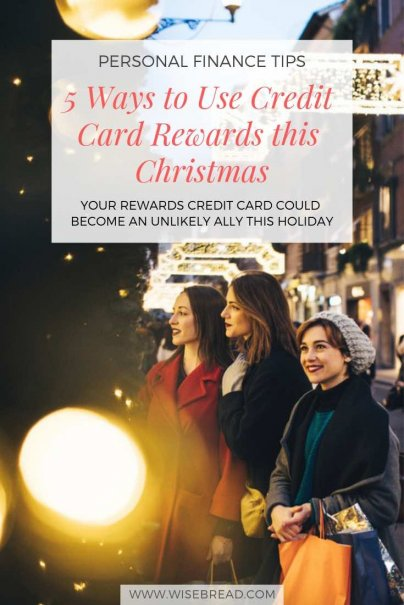 If you're struggling to afford Christmas this year or just want to save as much as you can, your rewards credit card could become an unlikely ally. With enough points and miles, you could save a boatload on holiday gifts and other end-of-year expenses. Here's how to maximize your rewards! | #chistmasgifts #creditcards #shopping #rewards