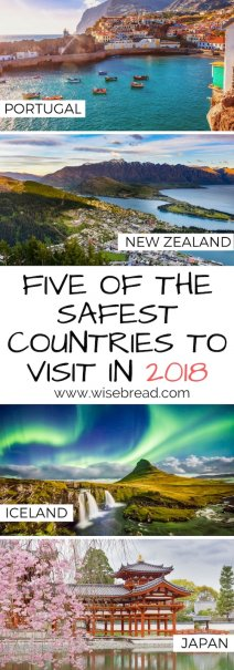 5 of the Safest Countries to Visit in 2018
