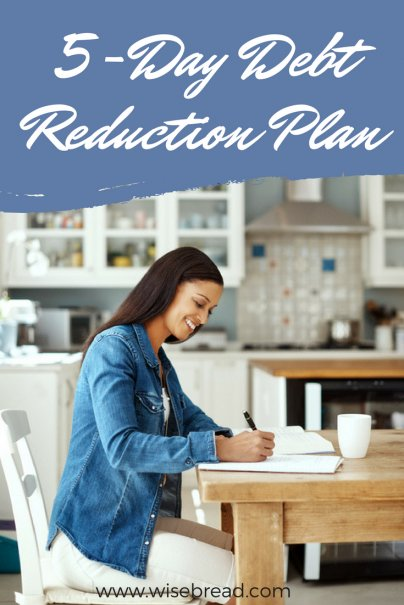 5-Day Debt Reduction Plan: Add It Up
