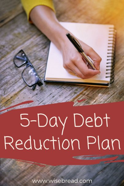 5-Day Debt Reduction Plan: Stop Waiting for Tomorrow