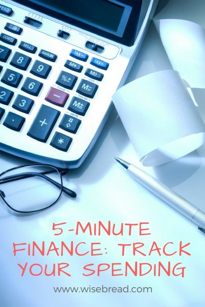 5-Minute Finance: Track Your Spending