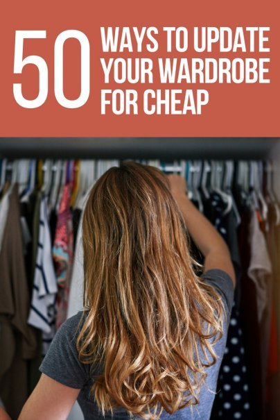 Looking for budget and cheap ways to upgrade your wardrobe? Check out these 50 money saving tips before heading to the store. From shopping your closet, to checking sales, shopping at thrift shops, selling your stuff, to avoiding trends, we've got the shopping hacks for you! | #budgetwardrobe #lifehacks #frugaltips