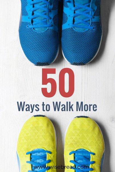 50 Ways to Walk More
