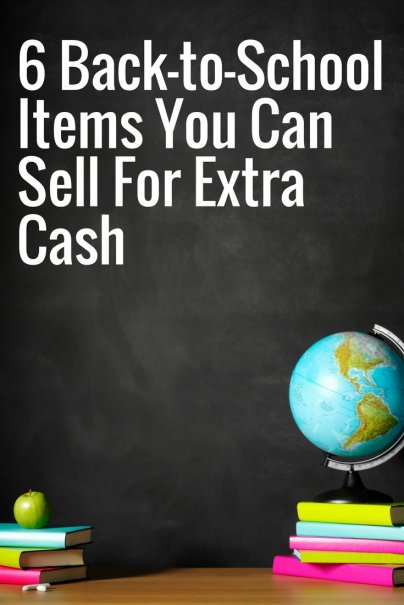 6 Back-to-School Items You Can Sell For Extra Cash