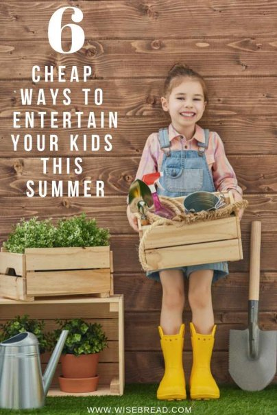 Looking for some cheap summer activities for kids? We've got the best tips to help you entertain your children. From DIY projects like gardening, to fun games at a water party, and more. We've got the awesome ideas to keep your summer frugal and budget friendly! | #cheapactivities #summergames #frugalliving
