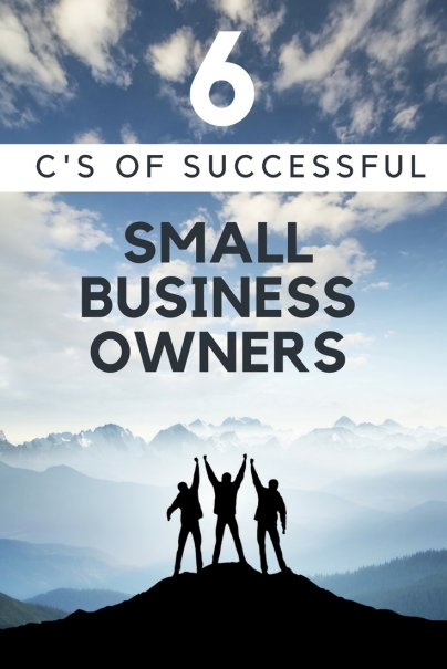 6 Cs of Successful Small Business Owners