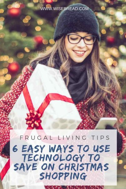 Technology can save you time and money, especially during the christmas holidays. You can use free apps on your smartphone, to take advantage of online shopping tricks to score the best deal. Check out our tips for this festive season gifts and presents! | #christmas #gifts #technology #shoppingapps #frugalliving