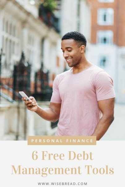 Want to leverage your devices to improve your personal finances at no extra cost? Here are 6 free smartphone apps or tools to track debt management. | #financetips #debtadvice #moneytips