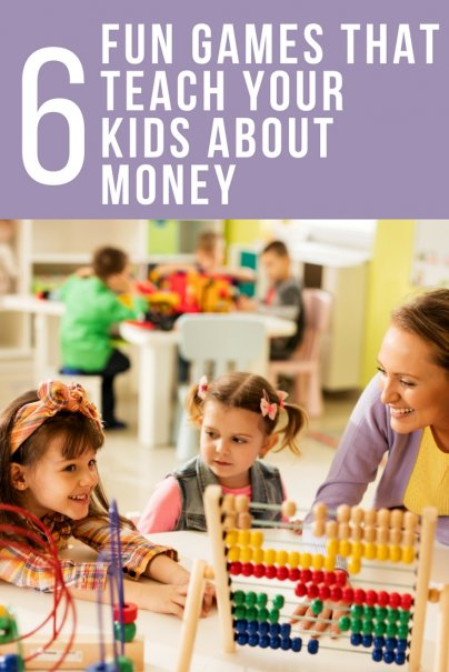 6 Fun Games That Teach Your Kids About Money