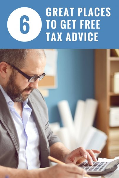 6 Great Places to Get Free Tax Advice