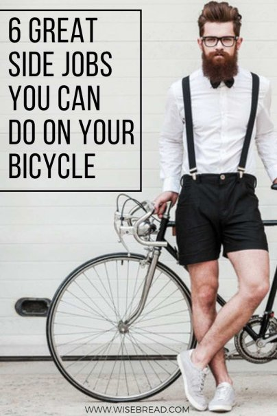 6 Great Side Jobs You Can Do on Your Bicycle