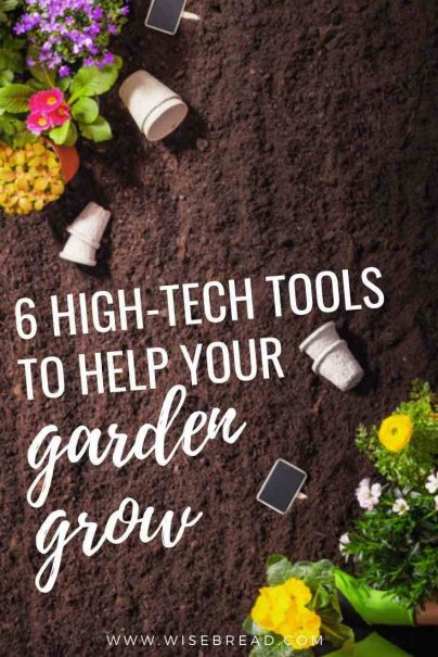 Want to help your garden grow? We've found 6 great tools that can help you with your green thumb! | #greenliving #gardening #gardenhacks
