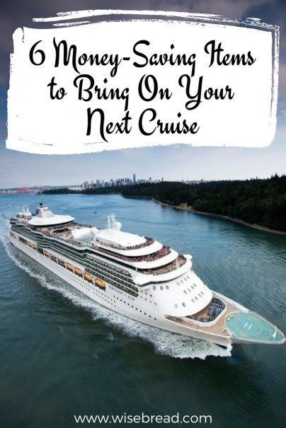 6 Money-Saving Items to Bring On Your Next Cruise