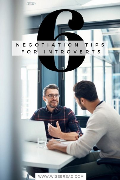 6 Negotiation Tips for Introverts