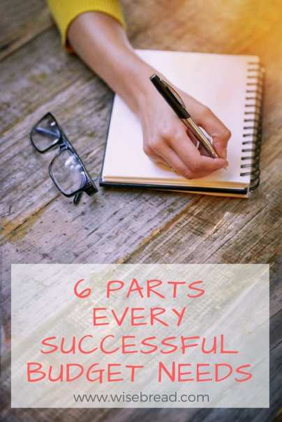 6 Parts Every Successful Budget Needs