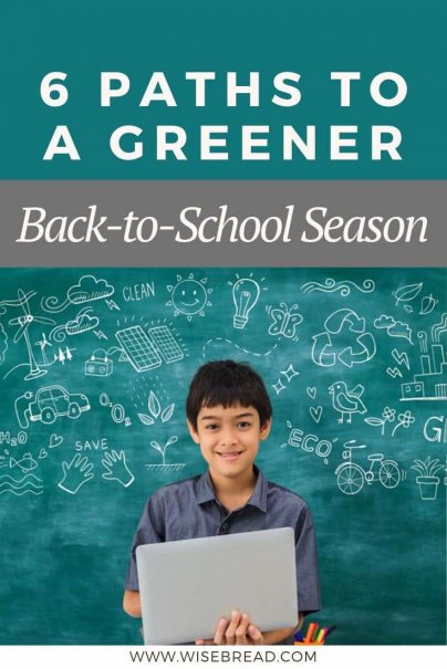 Adding an eco-friendly focus to the back-to-school season can be a great way to teach kids about sustainability. Here are a few options to consider. | #sustainable #ecofriendly #greenliving