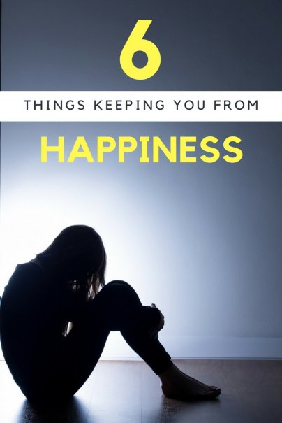 6 Reasons You're Not as Happy as You'd Like to Be