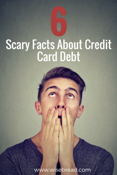 6 Scary Facts About Credit Card Debt