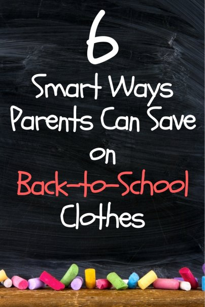 6 Smart Ways Parents Can Save on Back-to-School Clothes