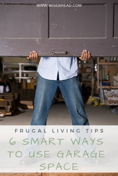 Got an empty garage? How about you make a play space for your kids in it, or an office,  or bedroom? You could make some extra cash from it too. Here are 5 ways you can use your garage | #frugalliving #DIY #garage
