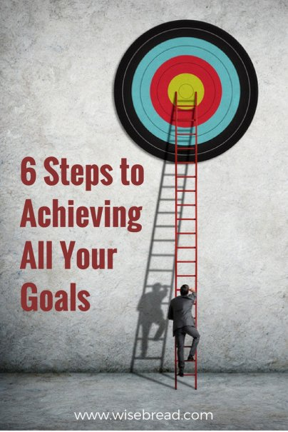 6 Steps to Achieving All Your Goals